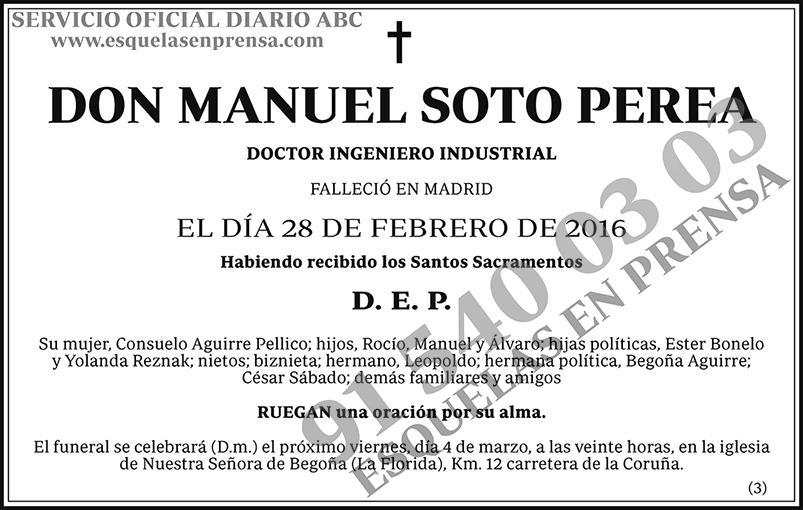 Manuel Soto Perea